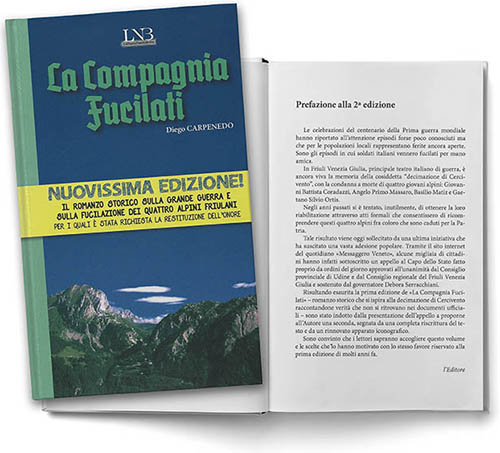 """Presentazione del libro """"La Compagnia Fucilati"""" di Diego Carpenedo"""