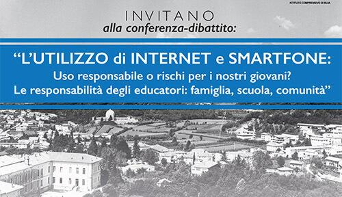 """Conferenza-dibattito: """"L'UTILIZZO DI INTERNET E SMARTPHONE"""""""