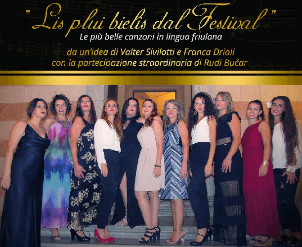 "Festival canzoni friulane: ""Les pui bieles dal Festival"""